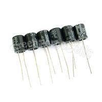 20 x 100uF 50V Radial Electrolytic Capacitor 8 x 12 mm