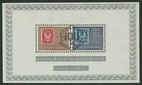 CENTENARY OF POSTHORN STAMPS 1972  - USED MINIATURE SHEET (G131)