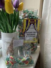Sugar Free Sweets - RHUBARB and CUSTARD - Diabetic - Diet Control - 85g