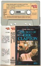 ERIC CLAPTON cassette K7 tape TIME PIECES the best of france french pressing