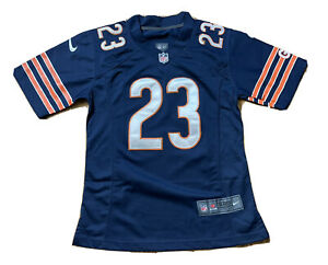 Women's Devin Hester Chicago Bears Sewn Nike Jersey Small Blue NFL Ladies NICE