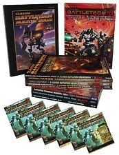 Bundle - 13 x Battletech-Zendikar-Technical Readout-Miniatures-Total Warfare-New