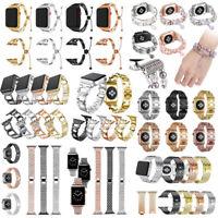 Orologio in acciaio Cinturino Bracciale per Apple Watch serie 1/2/3 42 / 38mm