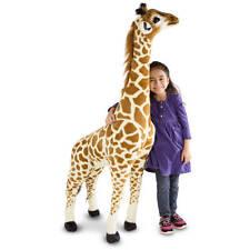 Giant Melissa & Doug Stuffed Giraffe Plush Animal Toy Child Nursery Kid 5 feet