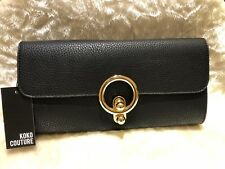 PU LETHER BLACK Ladies Clutch/Hand Bag Wedding, Prom,Evening Party.Great Quality