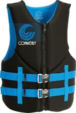 Connelly PROMO NEO Mens Wakeboard Ski Vest Large Black Blue NEW 2018