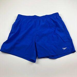 Speedo EUC Large Mens (Actual 32W) Mesh Lined Swim Trunk Shorts