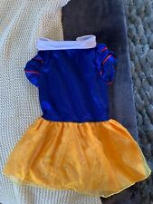 Snow White Costume New Pet Clothing Super Cute For Small/Med Puppies