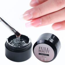 Clear Poly Fiber Builder Nail Forms Cracked Nail Extension Repair Gel HOT