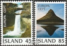 Iceland 522-523 (complete issue) unmounted mint / never hinged 1977 Landscapes