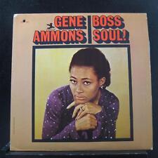 Gene Ammons - Boss Soul! LP VG+ PR 7445 Mono Van Gelder Prestige Vinyl Record