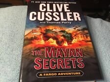 The Mayan Secrets by Thomas Perry and Clive Cussler (2013, Hardcover) 1st Print