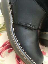 Dr Martens Womans Black Malibu Auth Wedge Mid Calf Doc's Boots Uk4