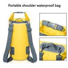 5L-30L водонепроницаемый хранения сухой сумка для каяк каноэ рафтинг плавание рюкзак для путешествий