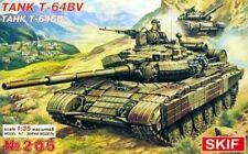 T-64 BV-Guerra Fría Soviética Mbt w/reactive Armour 1/35 Skif Raro