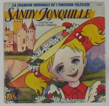 Sandy Jonquille 45 tours Claude Lombard 1988