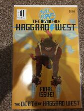 The Invincible Haggard West Comic Bagged And Boarded