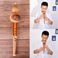 profeesional chinese hulusi gourd cucurbit flute c key ethnic instrument