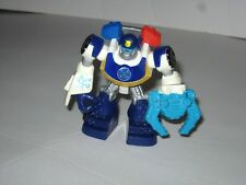 """Hasbro Transformers Rescue Bots Chase Police Action Figure Playskool Heroes 4"""""""