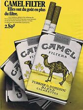 Publicité Advertising 016 1972 Camel  cigarettes 1