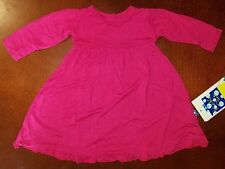 KicKee Pants Infant Girl Rhododendron Swing Dress w Keyhole 3-6 Months New