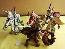 4 x Mounted Papo Knights Bundle - E