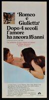Cartel Romeo Y Giulietta Zeffirelli Juliet Shakespeare Hussey N51