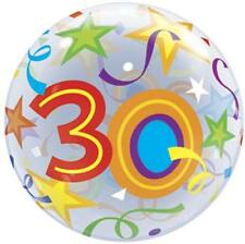30th Birthday 22 Inch Bubble Balloon Party Decoration