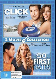 50 First Dates / Click DVD Region 4 NEW