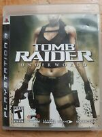Tomb Raider: Underworld - Sony PlayStation 3 PS3 Game [Complete]