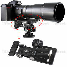 Telephoto Long-Zoom Lens Bracket Support f Quick Release Plate Tripod Mount Ring