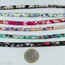 6 Piezas de 20cm Cordón Para Pulseras 6mm A209X Bracelet Row Cinta Perles
