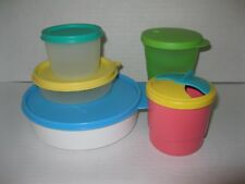 TUPPERWARE ~ LOT OF LUNCH CONTAINERS Tumbler Bowl Snack Cups Little Wonder