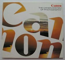 Photography Reference Guide For The Canon System Of Photography Pub # 5333