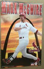 RaRe. vintage Mark McGwire poster St. Louis Cardinals MLB baseball roids (1998)