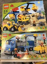Lego 5653 Lego 5652 Construction Lot Stone Quarry & Road Construction Sets