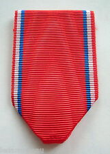 FRANCE: Ruban NEUF plié pour la médaille de Verdun, 1914-1918.