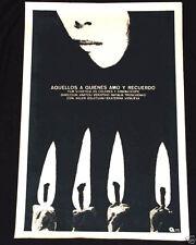 1975 Cuban Original Silkscreen Movie Poster.Affiche.affisch.THOSE I LOVE.Russian