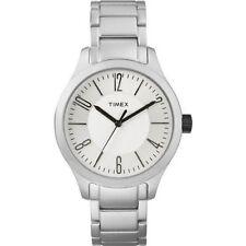 Timex Unisex Silver Band Wristwatches