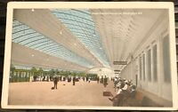 PASSENGER CONCOURSE Union Statlon, Washington DC divided back postcard