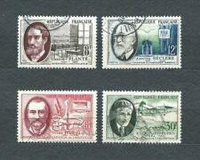 FRANCE - 1957 YT 1095 à 1098 - TIMBRES OBL. / USED