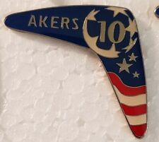 Michelle Akers #10 - 2000 SYDNEY OLYMPICS - BOOMERANG Lapel Pin