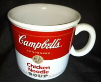 "Vintage Original CAMPBELL'S SOUP MUG 1996 Teleflora Ceramic 16oz. Cup Bowl 4"""