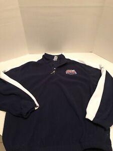 Super Bowl XLI Reebok Sweatshirt Half Zip Sweater Colts vs Bears Sz XL Florida