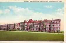 1932 OAKDALE SANITARIUM FOR TUBERCULOSIS, near IOWA CITY, IOWA