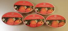 Colonial Candle ** ORANGE BLOSSOMS ** Simmer Snaps/Tarts 2.4oz Oval - LOT OF 5