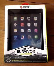 New Griffin Survivor Hard All-Terrain Military DUTY CASE COVER For IPAD Air 2 UK