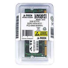 2GB памяти SoDimm DDR2 Non-ECC PC2-6400 800MHz 800 МГц ddr-2 DDR 2 2G RAM памяти