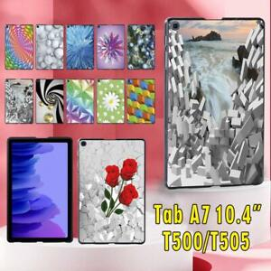 "For Samsung Galaxy Tab A7 10.4"" T500 T505 Tablet Printed Hard Shell Case Cover"