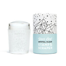 MoYou London Crystal Clear transparenter Stempel Stamping Scraper clear jelly